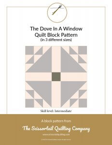 Dove in a Window Pattern Preview image