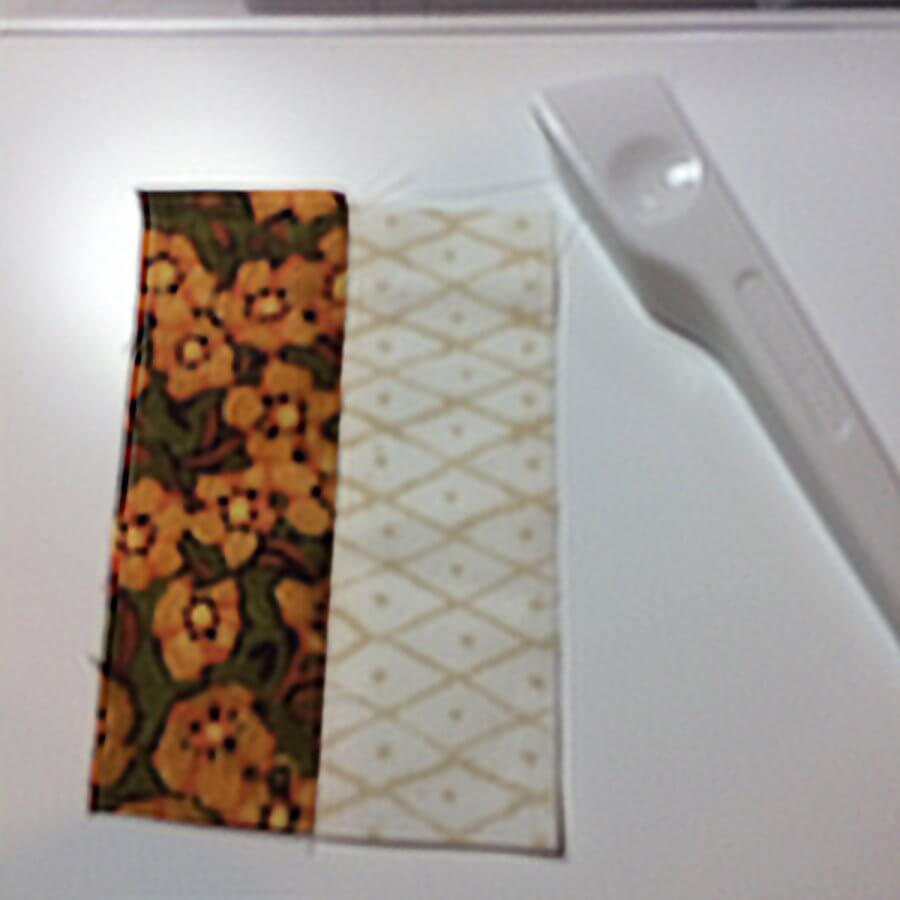 Sewing test strips
