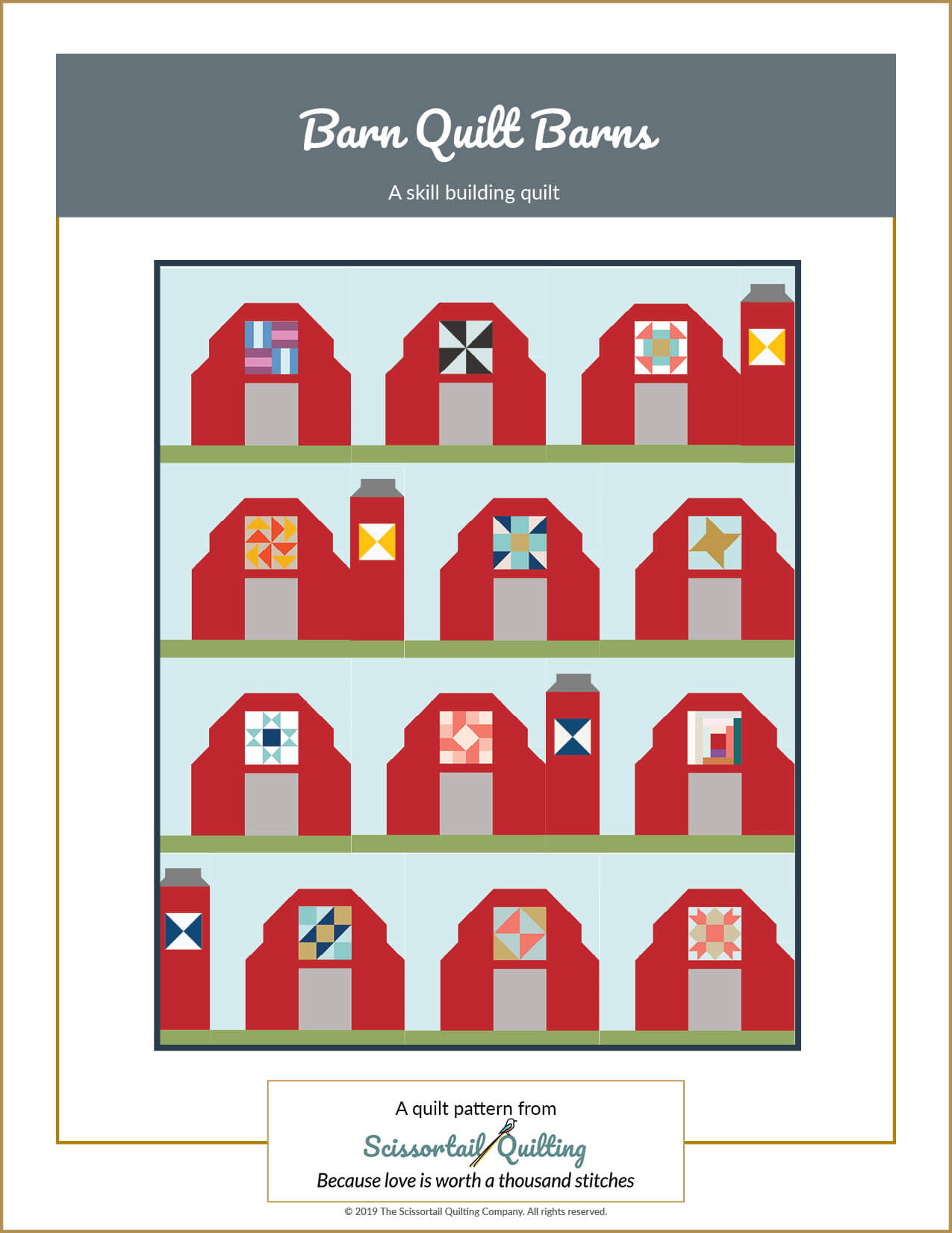 Image of cover for Barn Quilt Barns Quilt Pattern