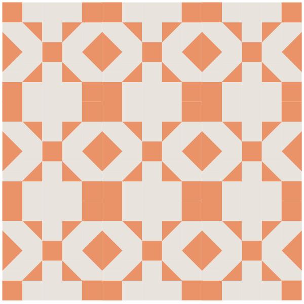quilt design using Oregon Quilt Blocks