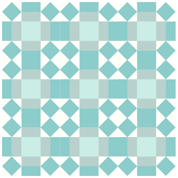 Grouping Example of the Rolling Stone Quilt Block