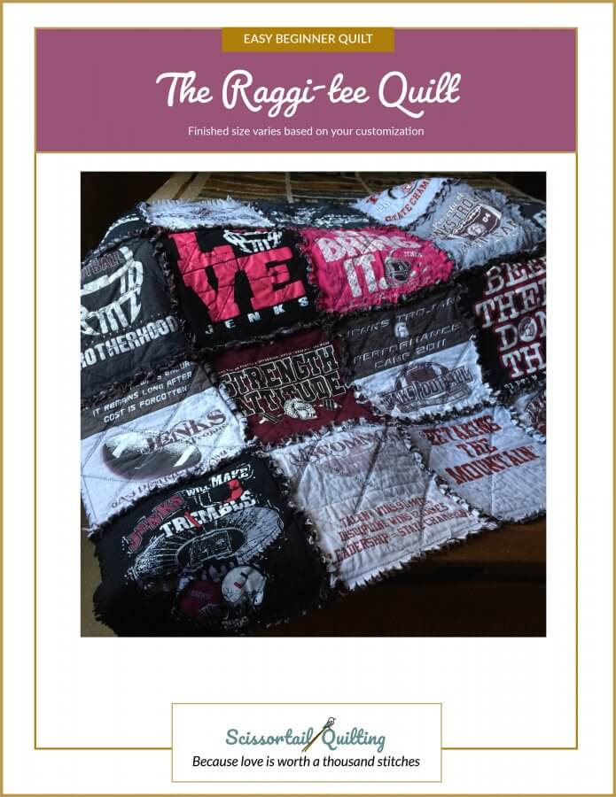 Image of Cover for the Raggi-tee Quilt Pattern